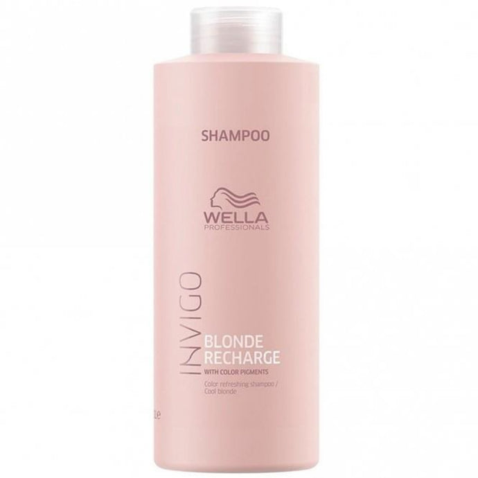 Wella Professionals Invigo Blonde Recharge Shampoo 1000ml