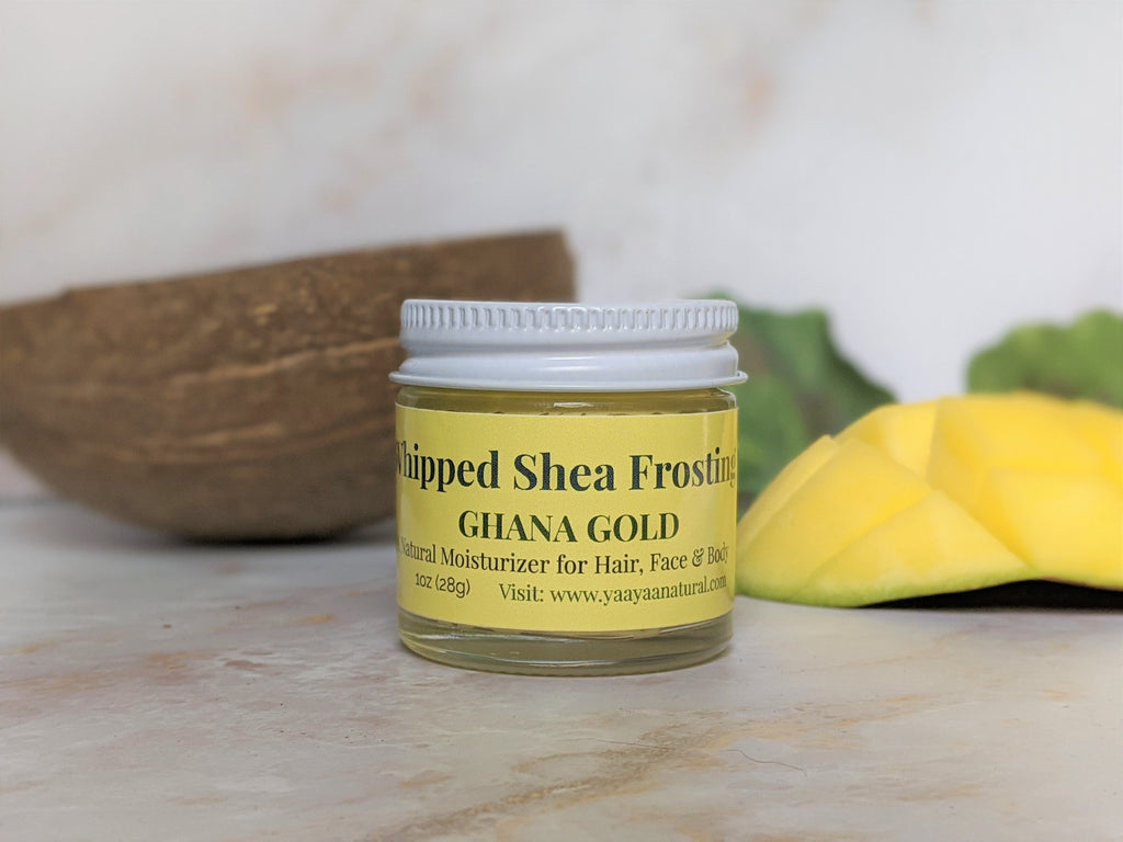 Ghana Gold Tropical Whipped Shea Frosting