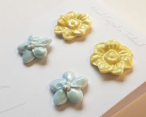 Flower Studs Double Pack