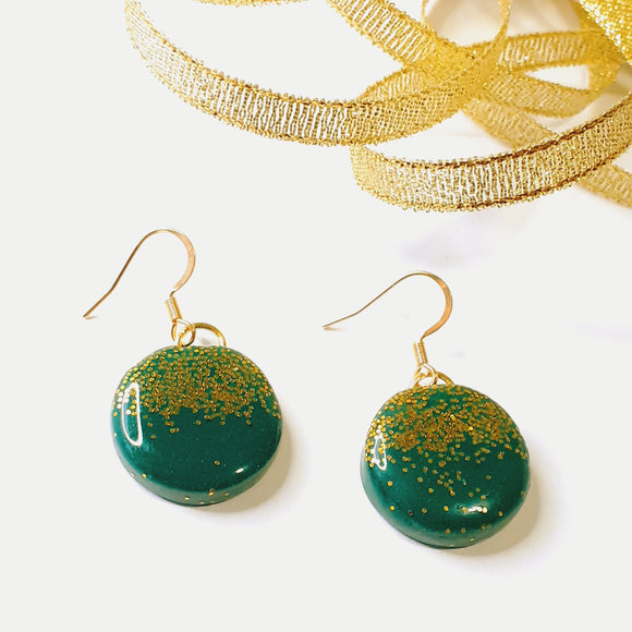 Christmas Baubles - Green