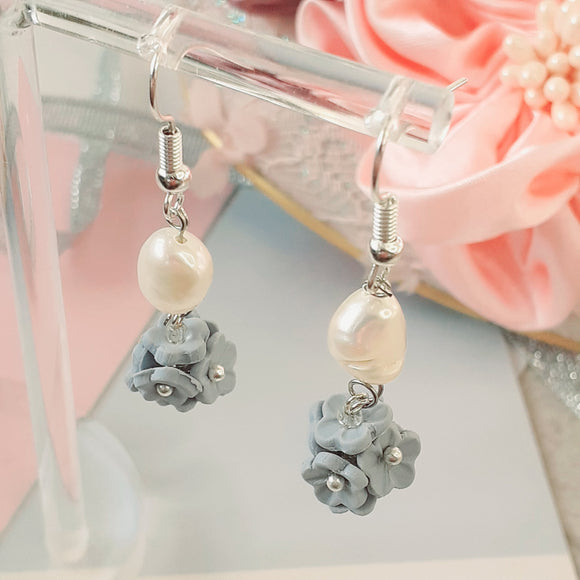 Blue Forget-Me-Not pearl drops