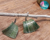 Sea Urchin Clay Earrings