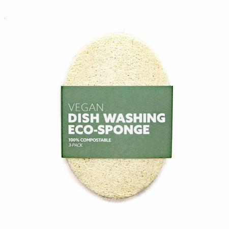 Biodegradable Eco-Sponges for Dish Washing (3 Pack) - Mortise And Tenon