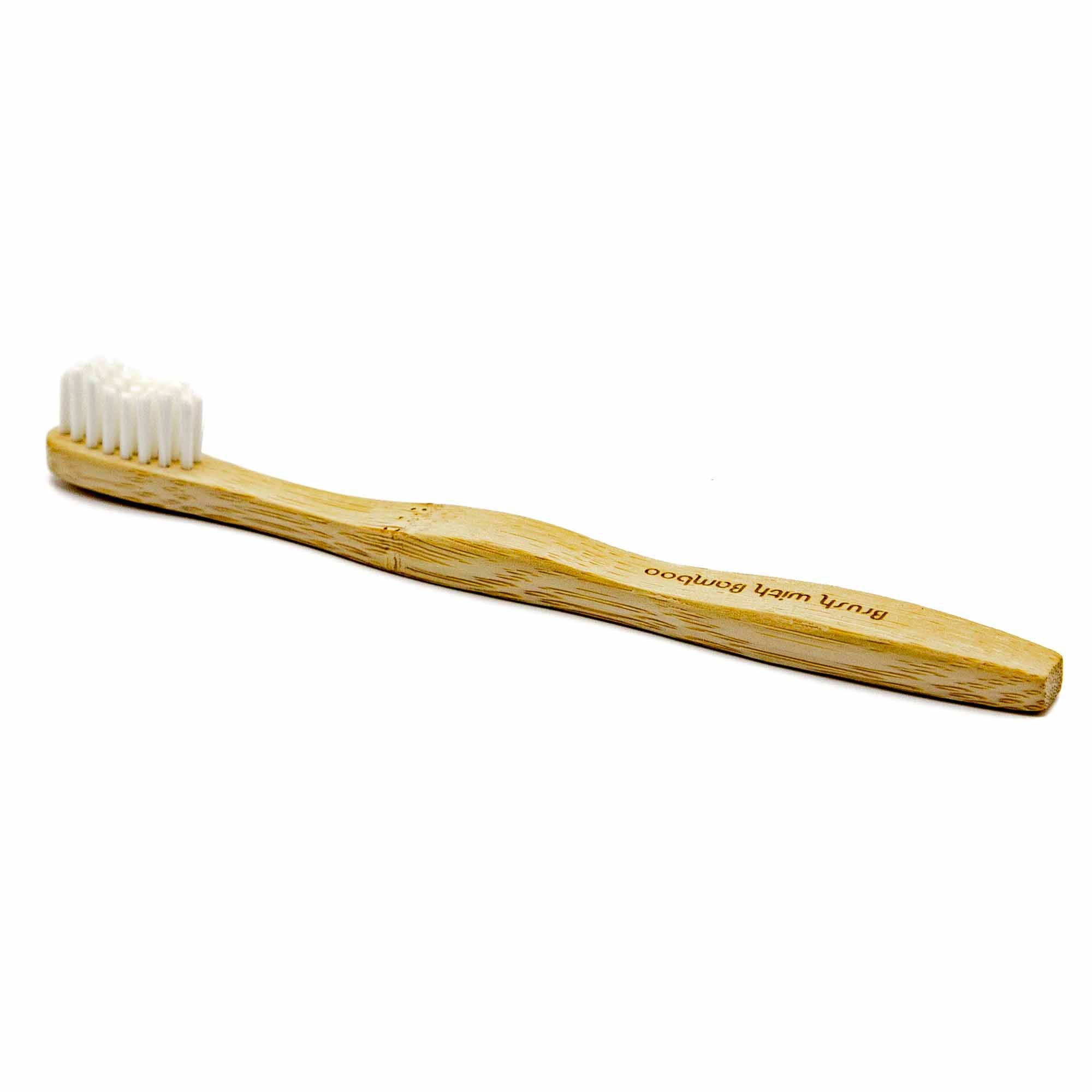 Brush With Bamboo - Kid's Bamboo Toothbrush - Mortise And Tenon