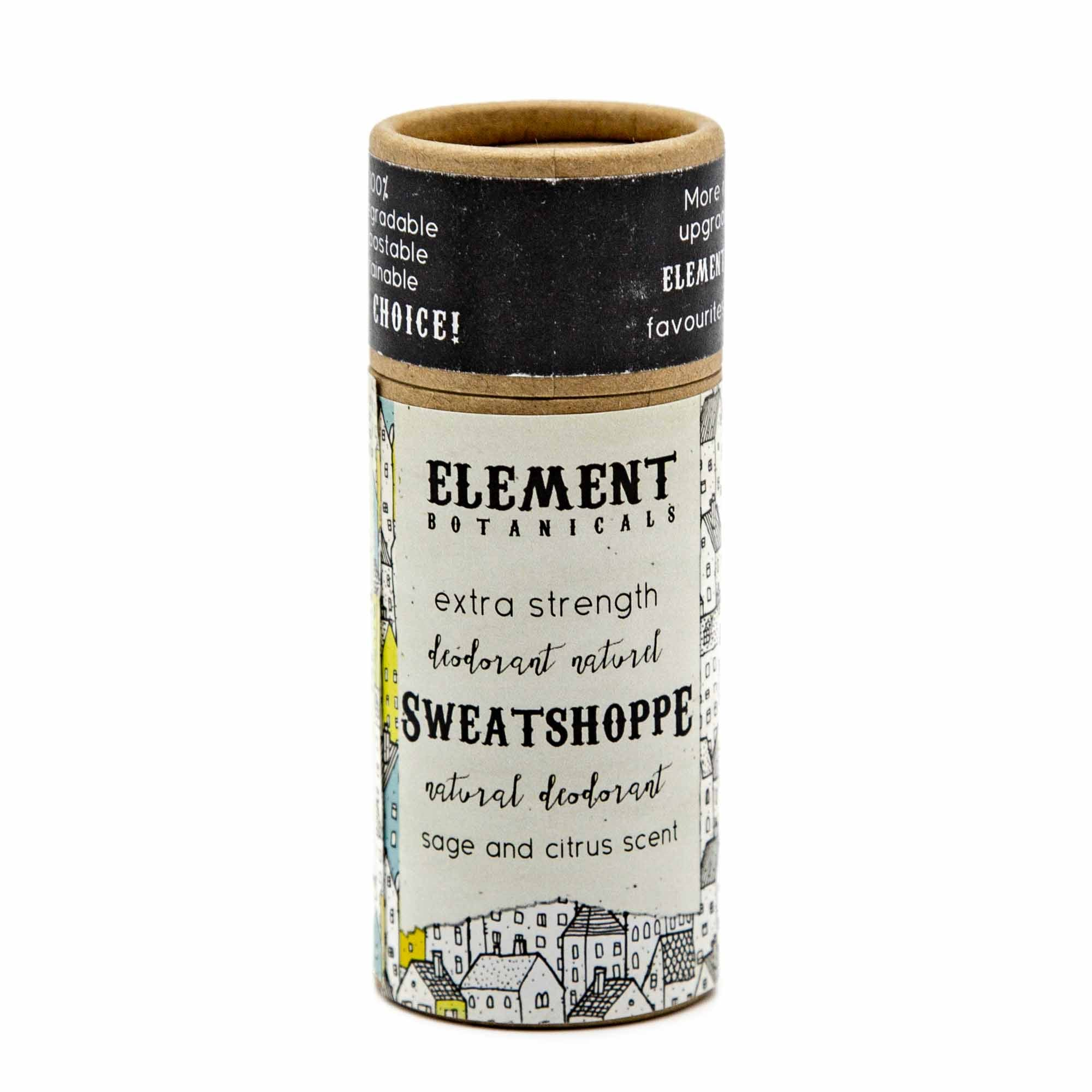 Element Botanicals Natural Deodorant - Sweatshoppe - Mortise And Tenon
