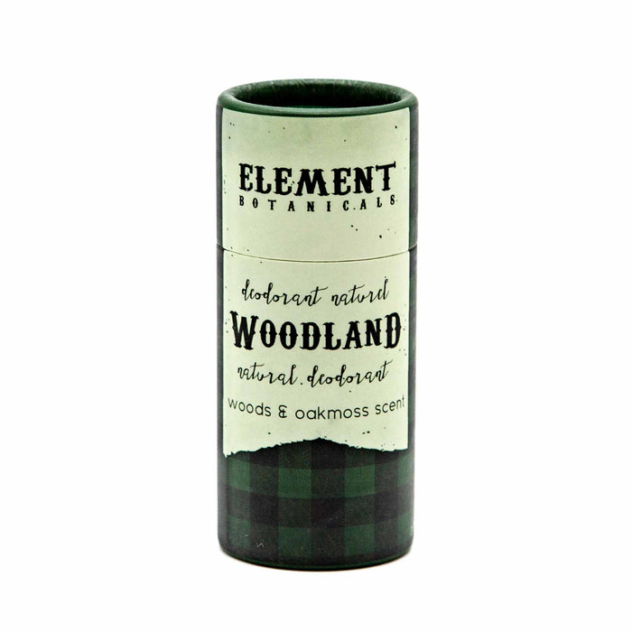 Element Botanicals Natural Deodorant - Woodland - Mortise And Tenon