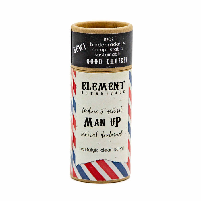 Element Botanicals Natural Deodorant - 'Man Up' - Mortise And Tenon