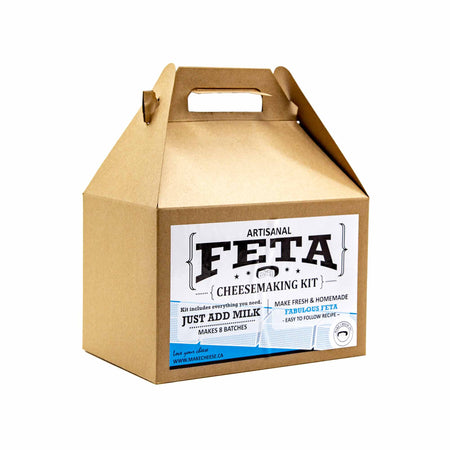 Feta Cheesemaking Kit - Mortise And Tenon