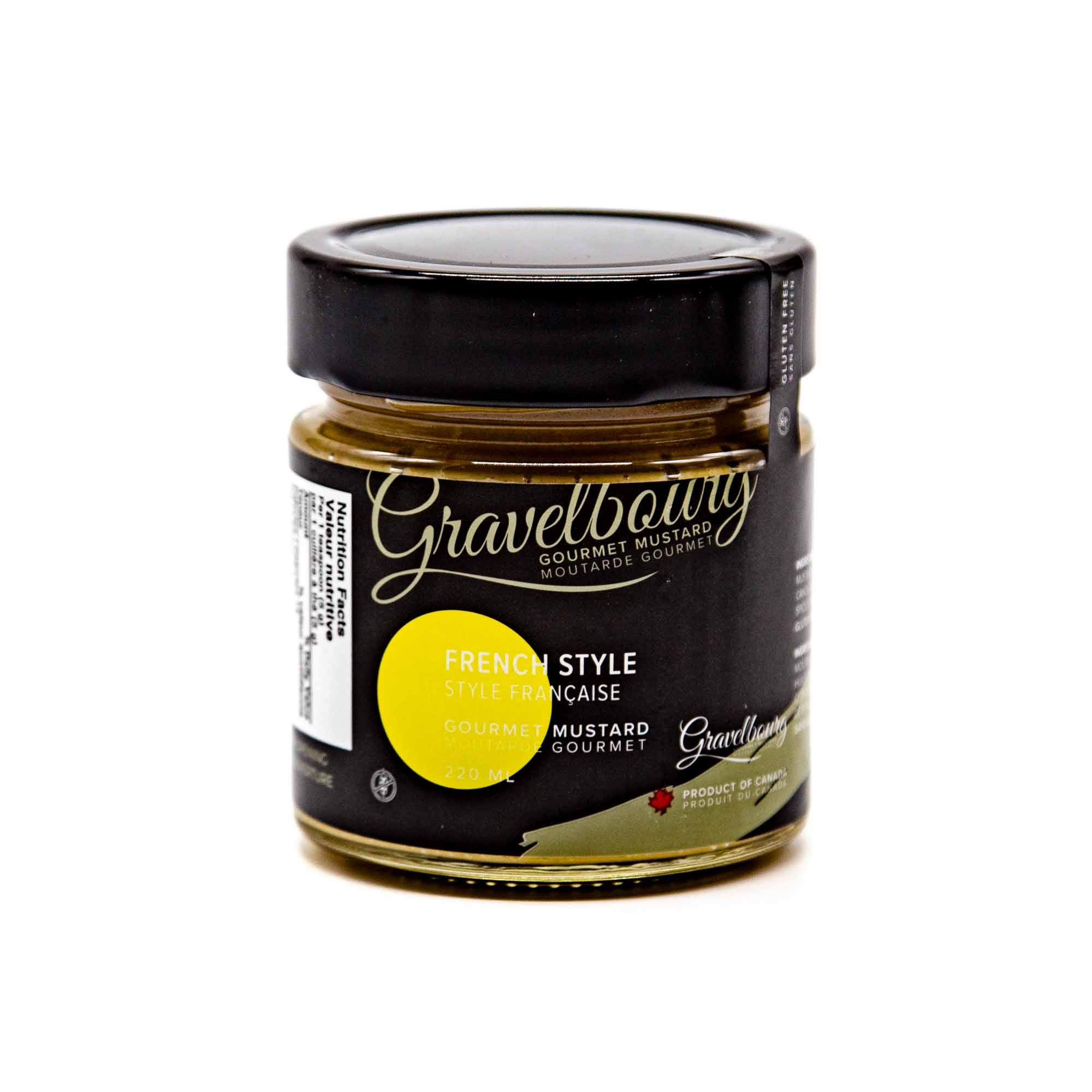 Gravelbourg Mustard - French Style Gourmet Mustard - Mortise And Tenon