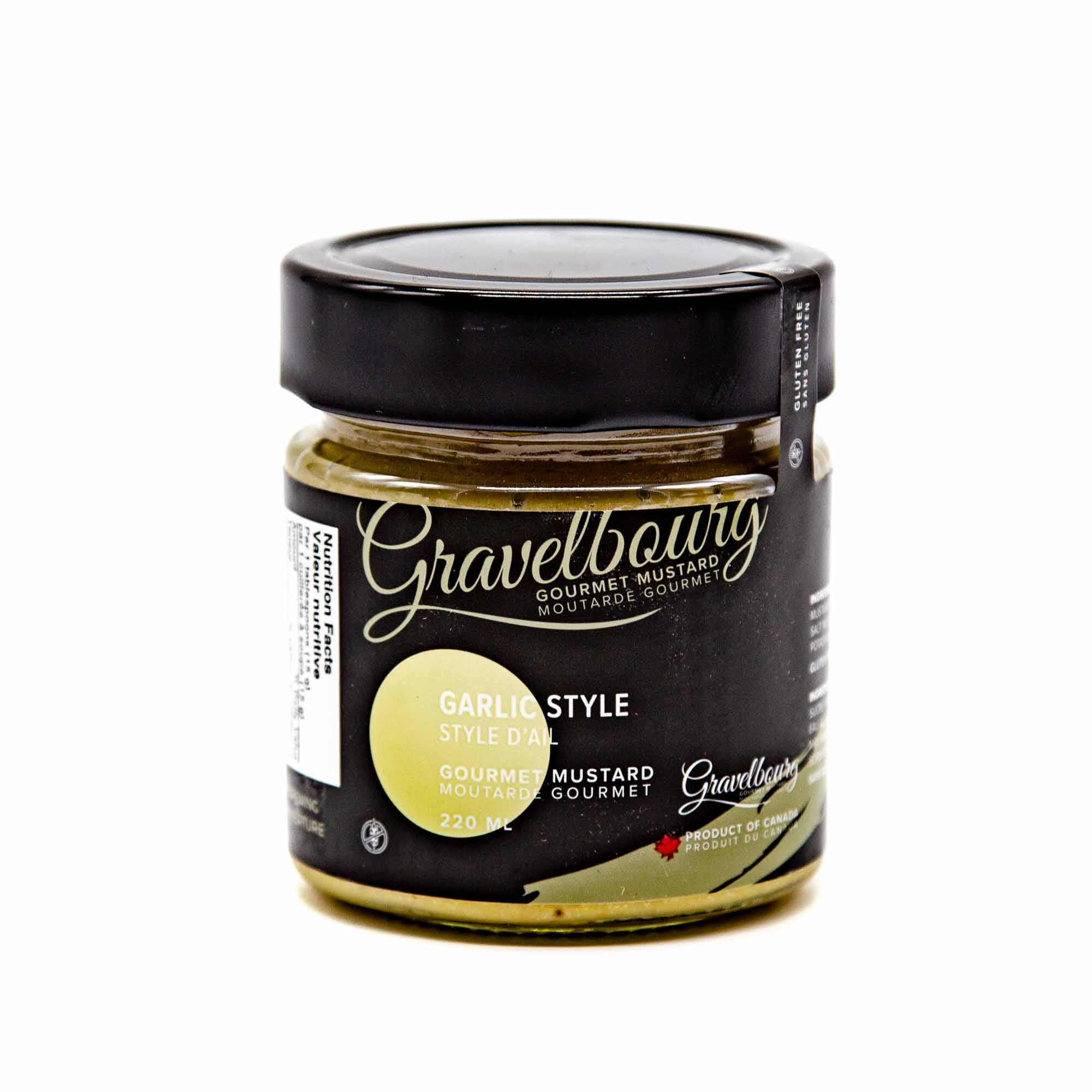 Gravelbourg Mustard - Garlic Style Gourmet Mustard - Mortise And Tenon