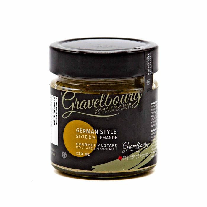 Gravelbourg Mustard - German Style Gourmet Mustard - Mortise And Tenon