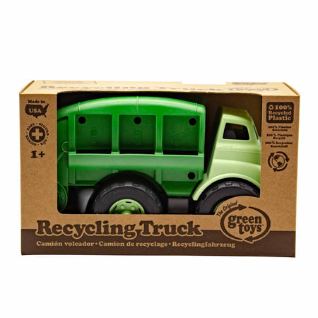 Green Toys Recycling Truck - Mortise And Tenon