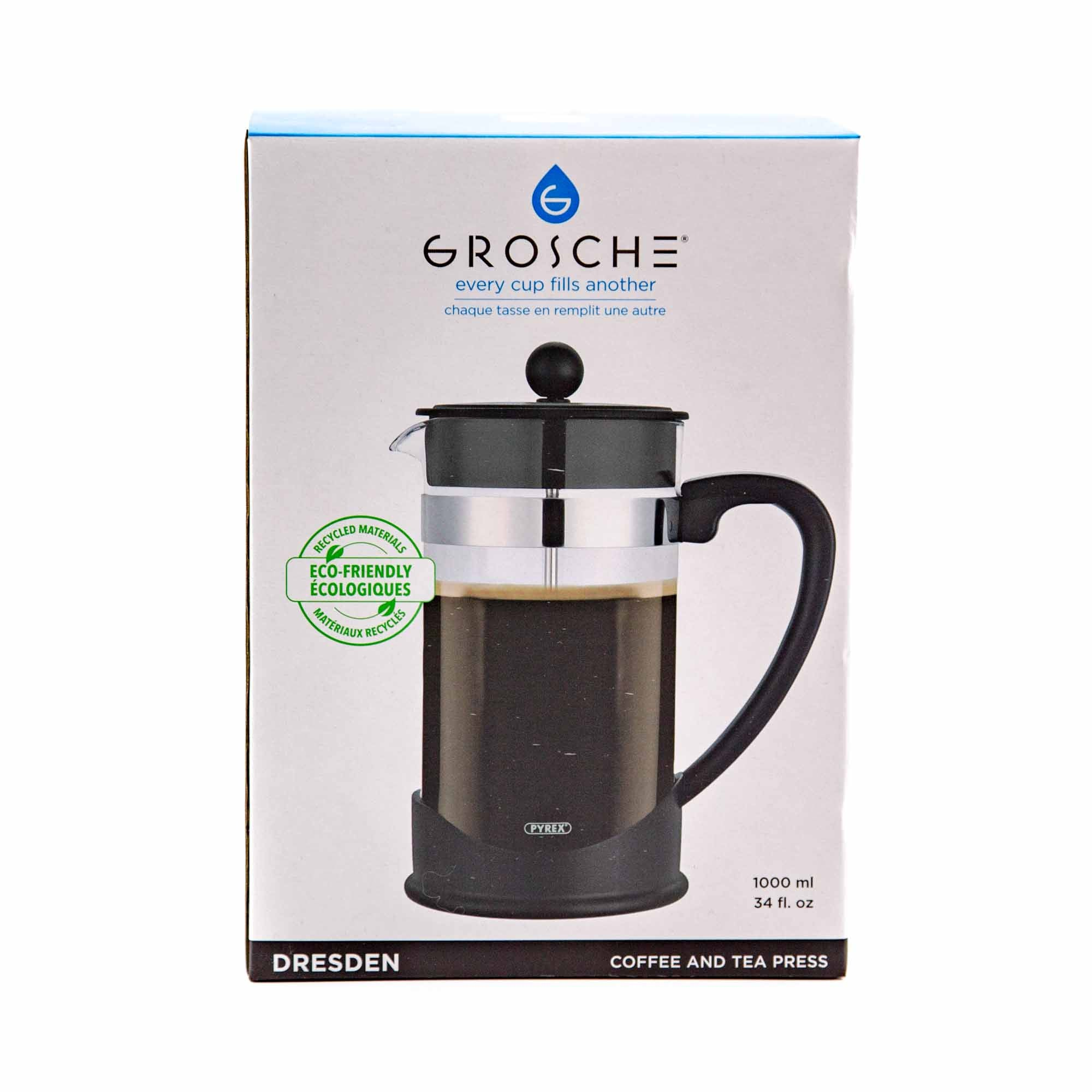 Grosche Dresden French Press - Mortise And Tenon