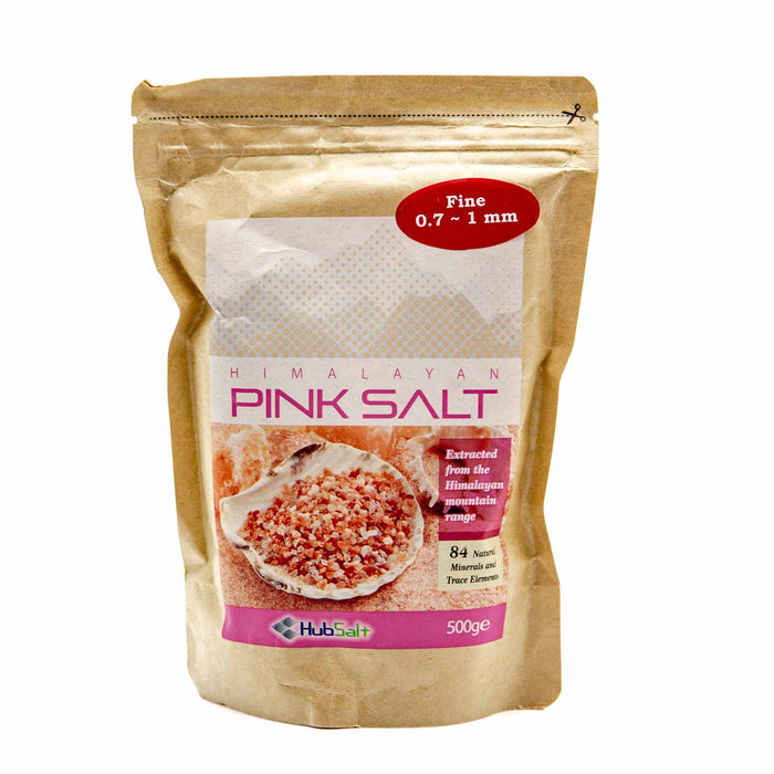 Himalayan Sea Salt 500g - Fine - Mortise And Tenon