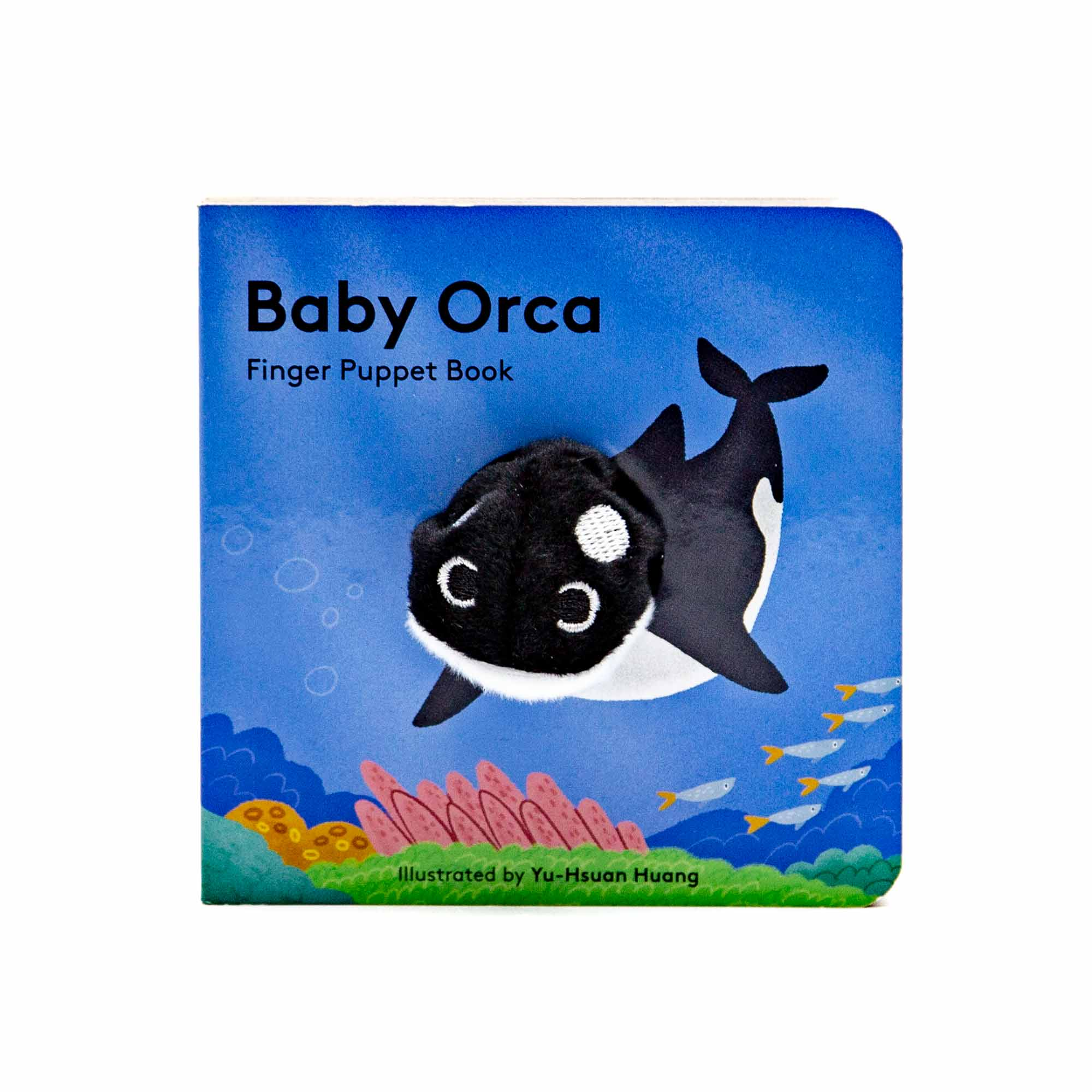 Baby Orca: Finger Puppet Book - Mortise And Tenon