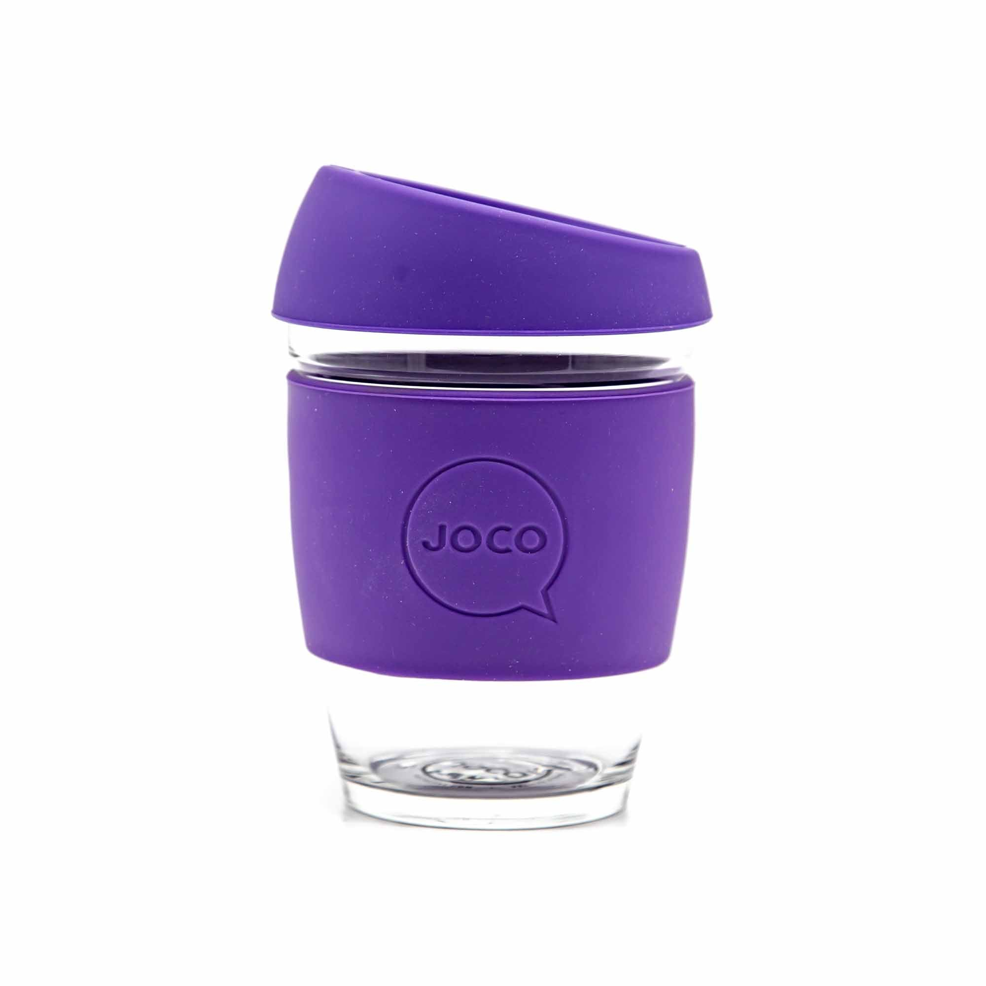 Joco Reusable Cup - 12oz - Purple - Mortise And Tenon