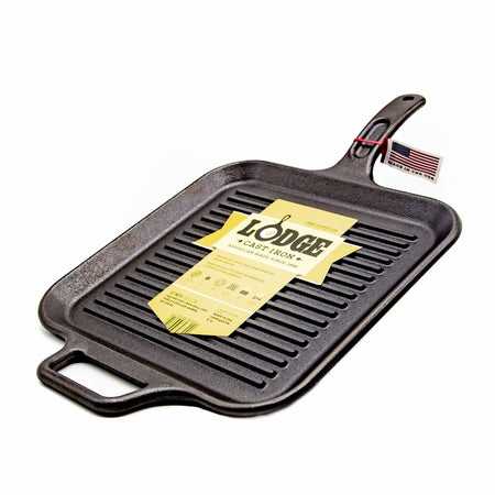"Lodge 12"" Square Grill Pan - Mortise And Tenon"