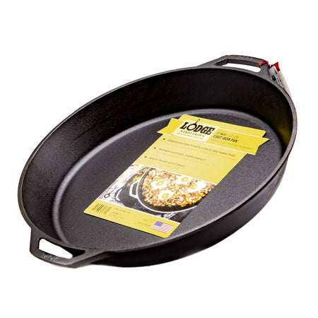 "Lodge 17"" Cast Iron Skillet - Mortise And Tenon"