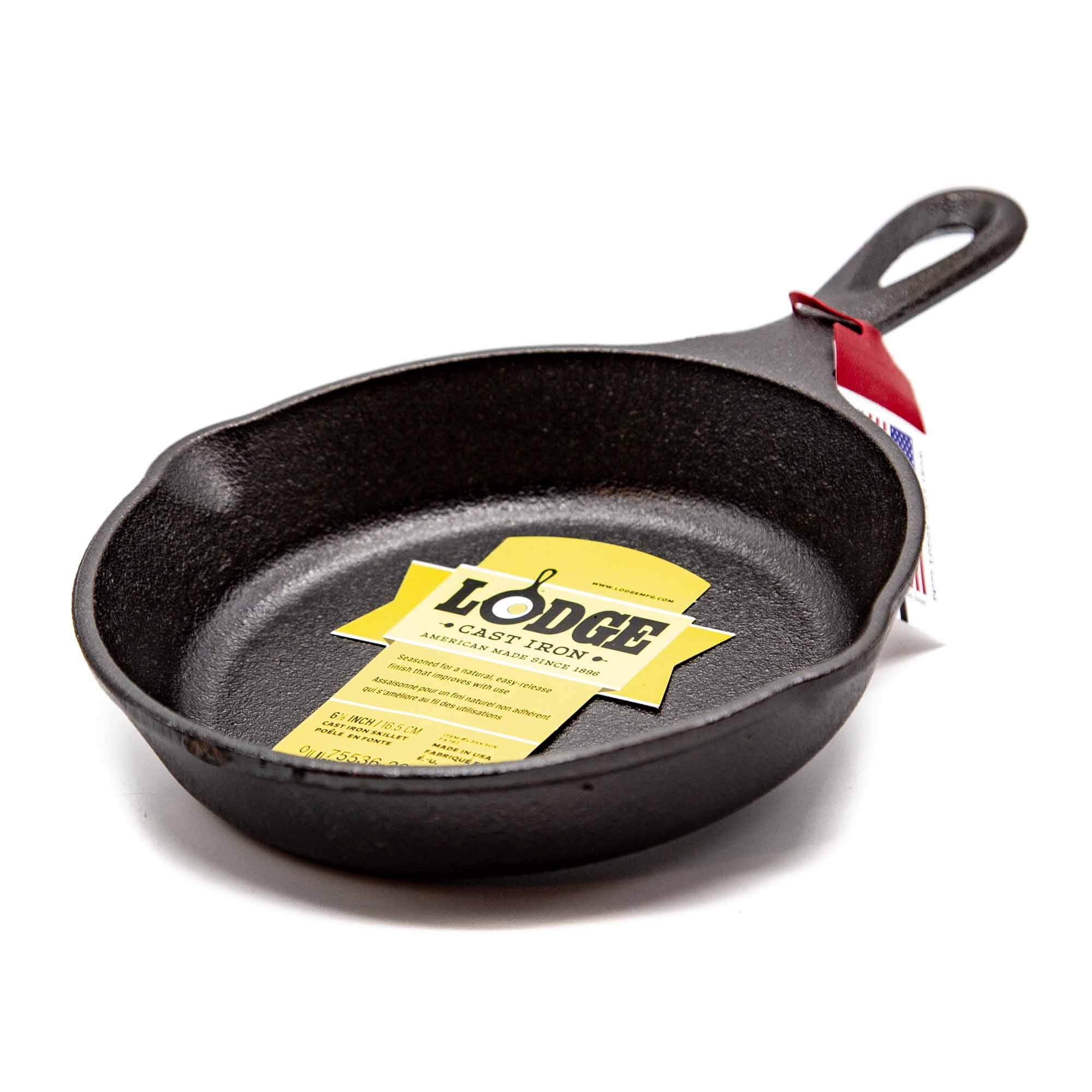 "Lodge 6.5"" Cast Iron Skillet - Mortise And Tenon"