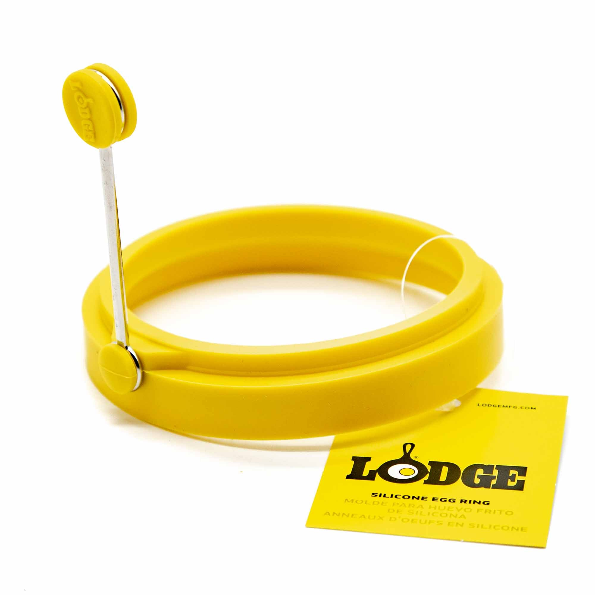 Lodge Silicone Egg Ring, Yellow - Mortise And Tenon