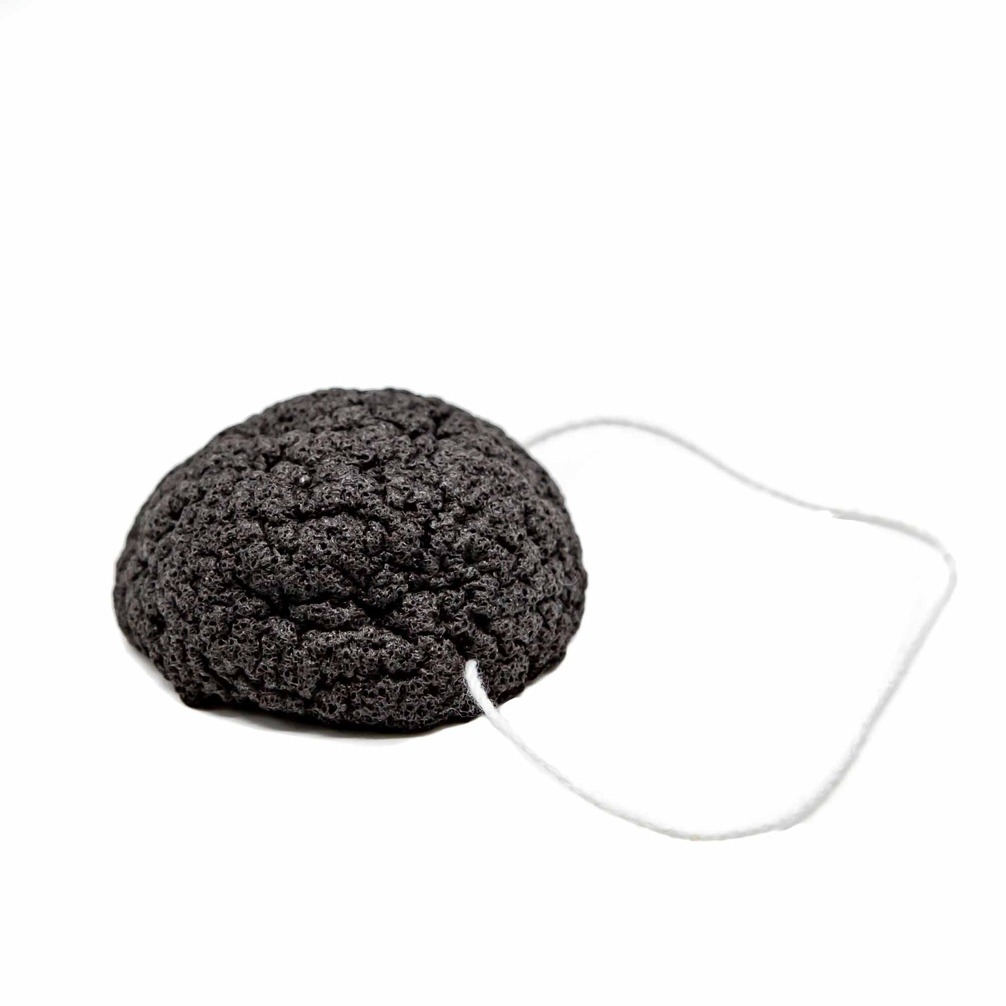 Luna Charcoal Facial Sponge - Mortise And Tenon