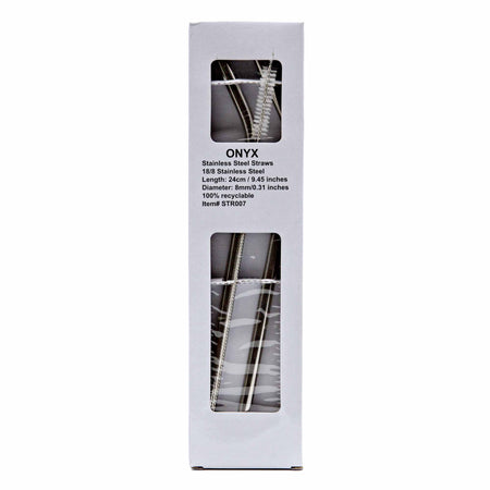 ONYX Smoothie Straw - 2 pack - Mortise And Tenon