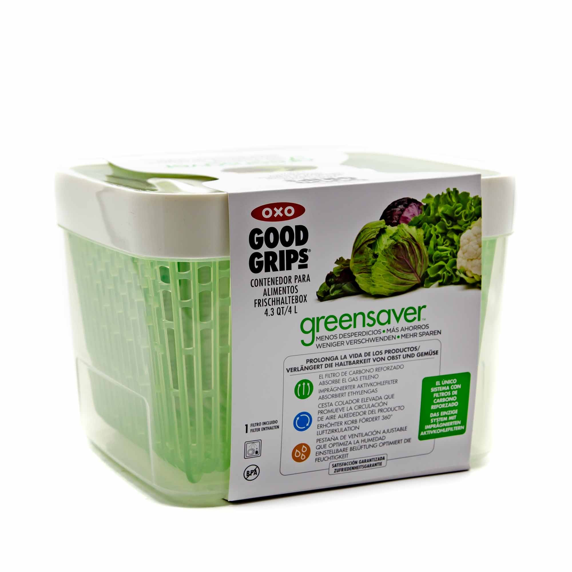 OXO Good Grips Greensaver 4.3QT - Mortise And Tenon