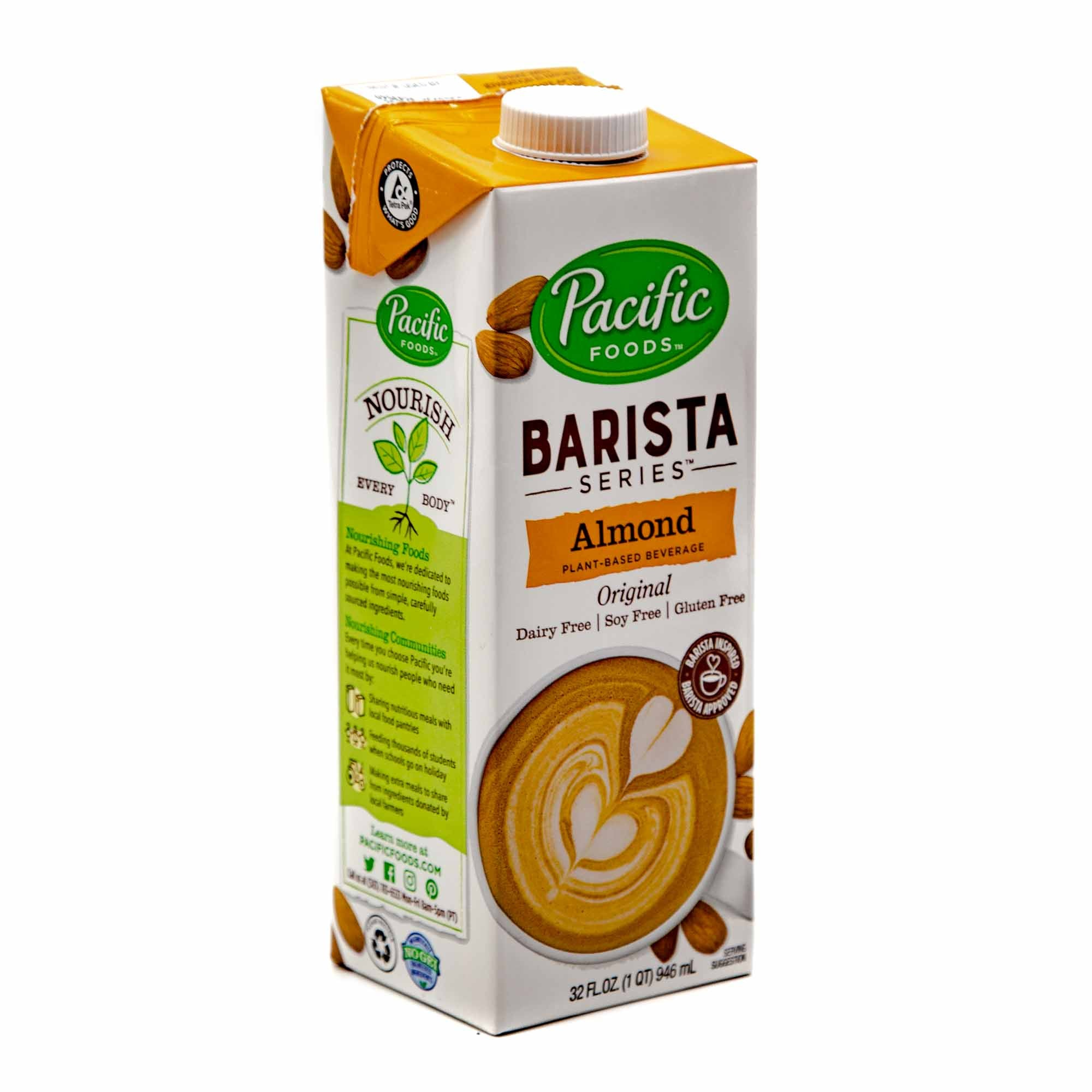 Pacific Barista Almond Milk - Mortise And Tenon
