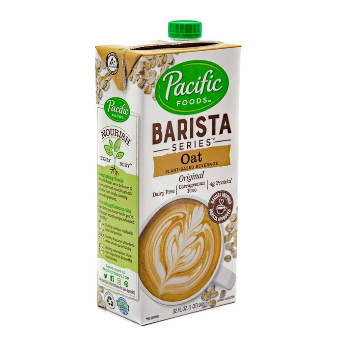 Pacific Barista Oat Milk - Mortise And Tenon