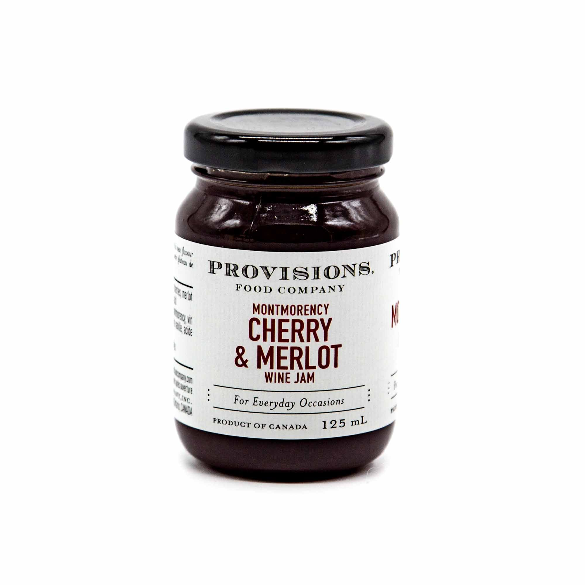 Provision Foods Jam - Montmorency Cherry & Merlot - Mortise And Tenon