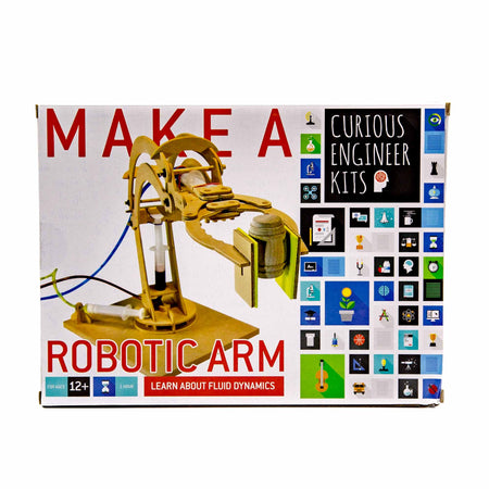 Robotic Arm Kit - Mortise And Tenon