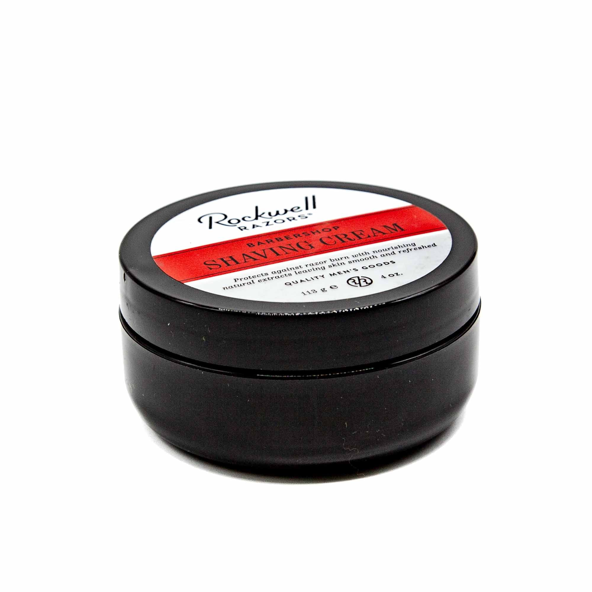 Rockwell Razor Barbershop Shaving Cream - Mortise And Tenon