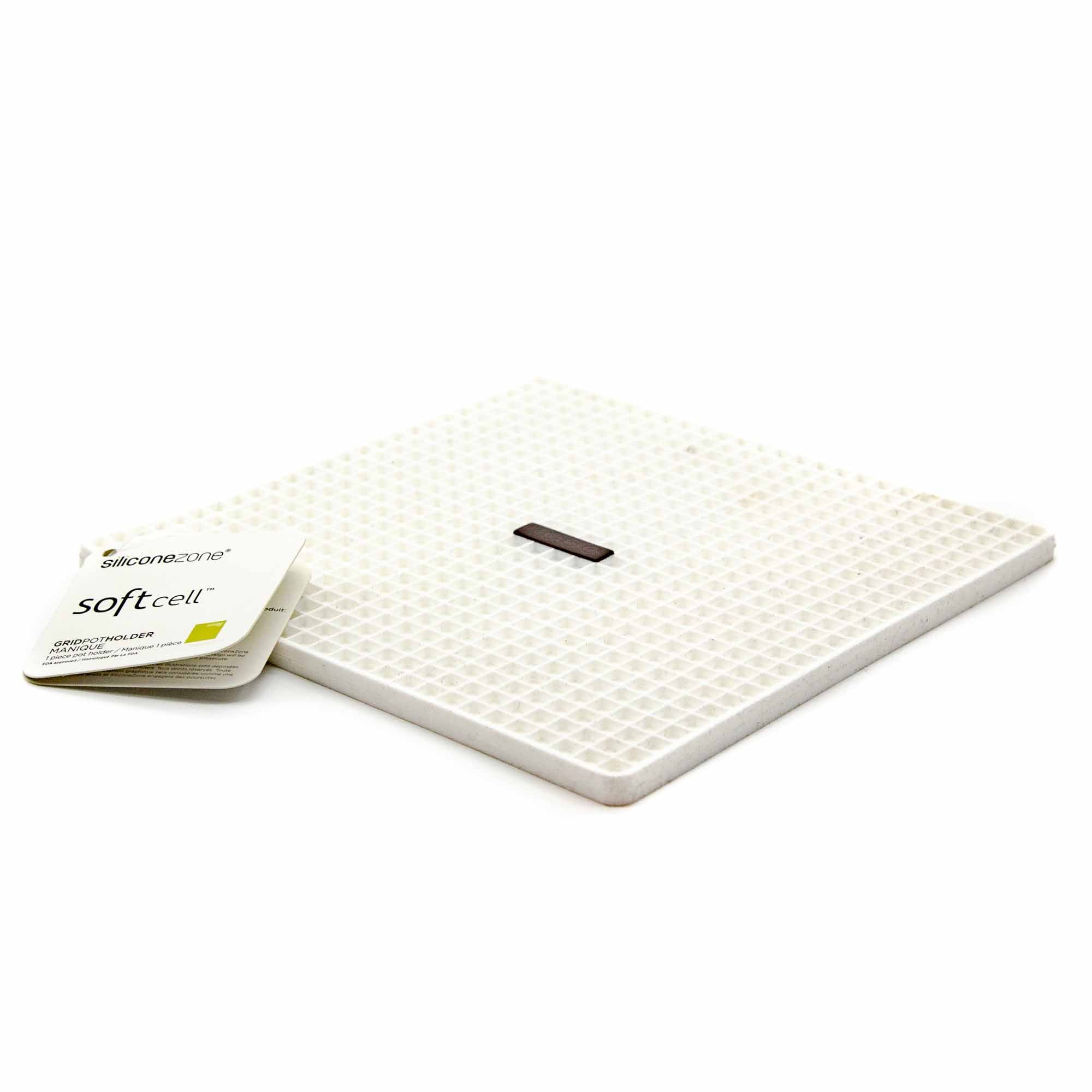 Silicone Zone Grid Potholder - 2 Colours - Mortise And Tenon