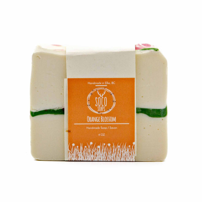 Soco Soaps Orange Blossom Soap - Mortise And Tenon