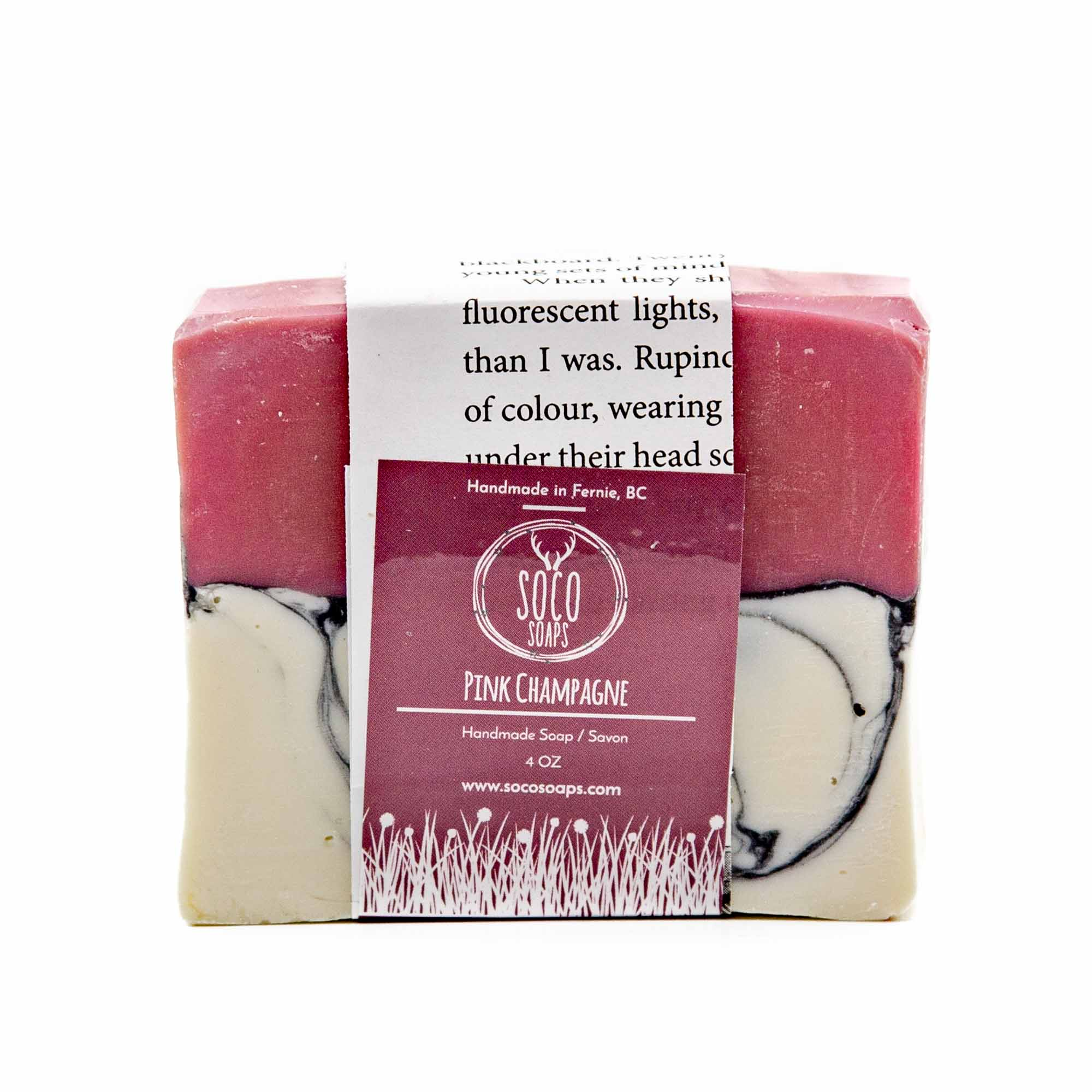 Soco Soaps Pink Champagne Soap - Mortise And Tenon