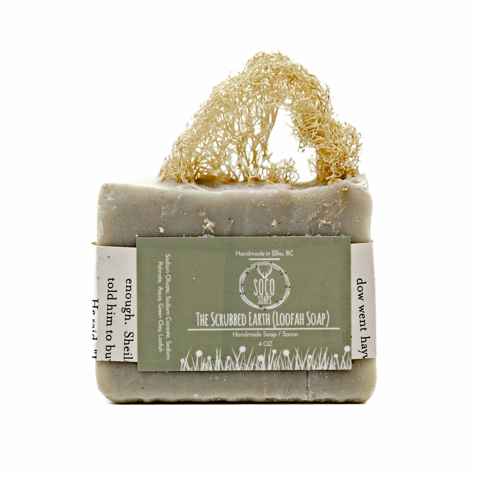 Soco Soaps The Scrubbed Earth Soap (Loofah) - Mortise And Tenon