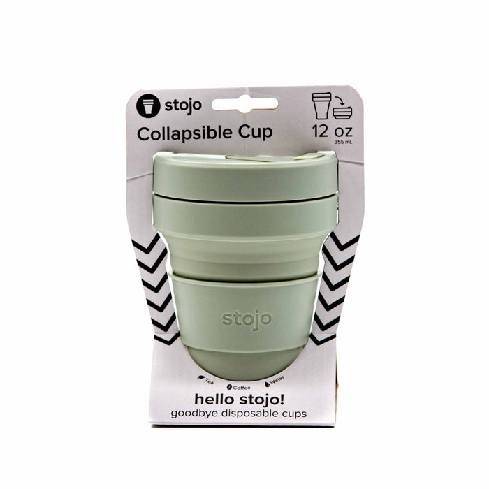 Stojo 12oz Collapsible Cup - 4 Colours - Mortise And Tenon