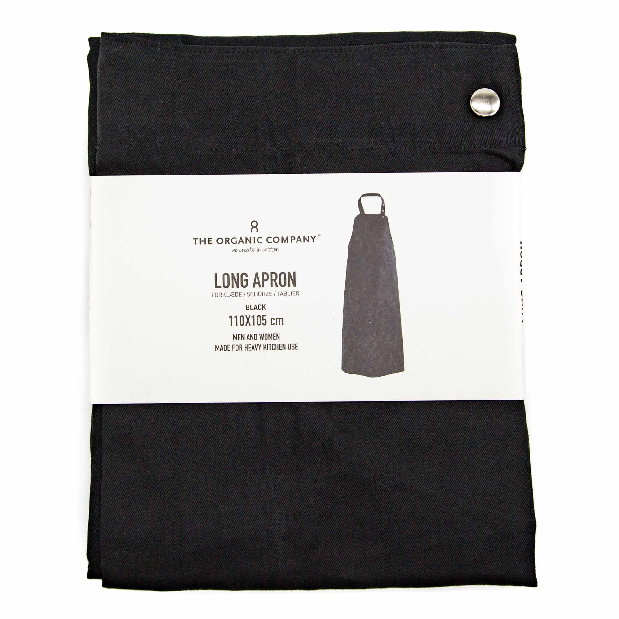 The Organic Company Long Apron - 2 Colours - Mortise And Tenon