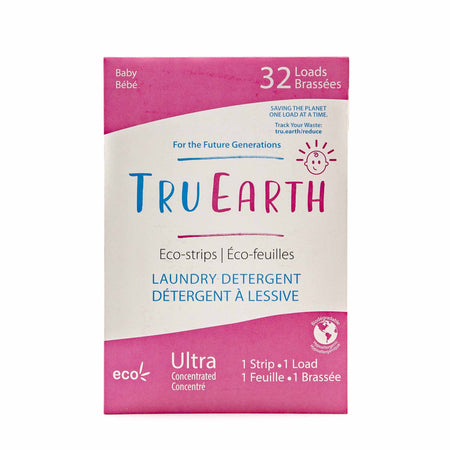 Tru Earth Baby Laundry Strips - 32 pack - Mortise And Tenon