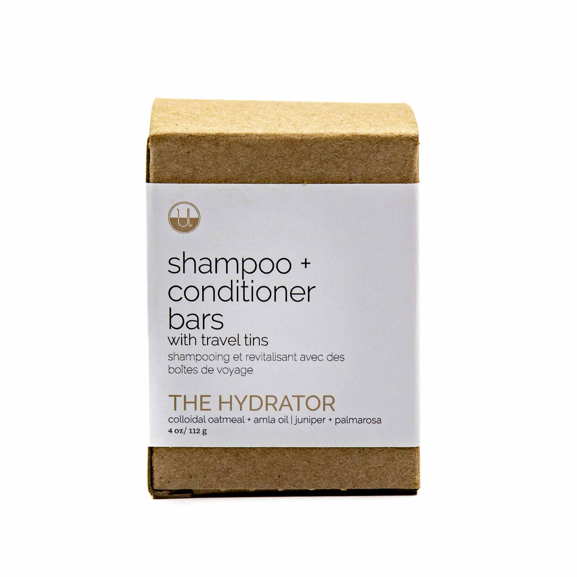 Unwrapped Life Shampoo & Conditioner Bar Set with Travel Tins - 6 Types - Mortise And Tenon