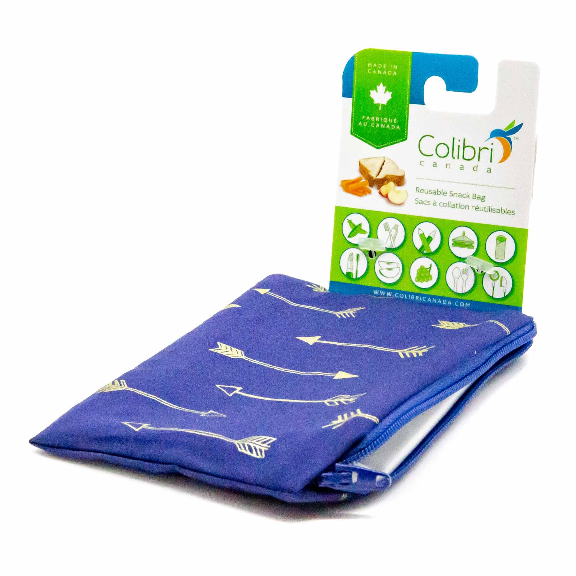Colibri Arrows Snack Bag - Mortise And Tenon