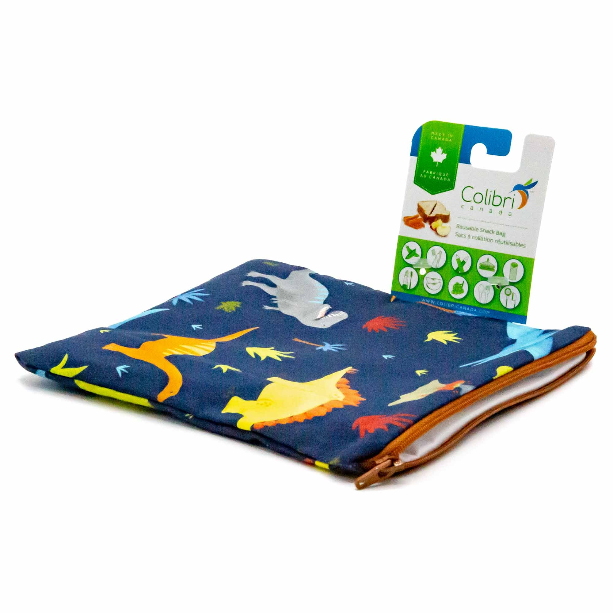 Colibri Dinosaurs Snack Bag - Mortise And Tenon