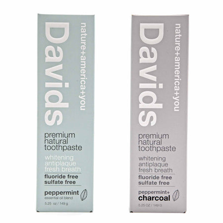 David's Premium Natural Toothpaste - 4 Flavours - Mortise And Tenon