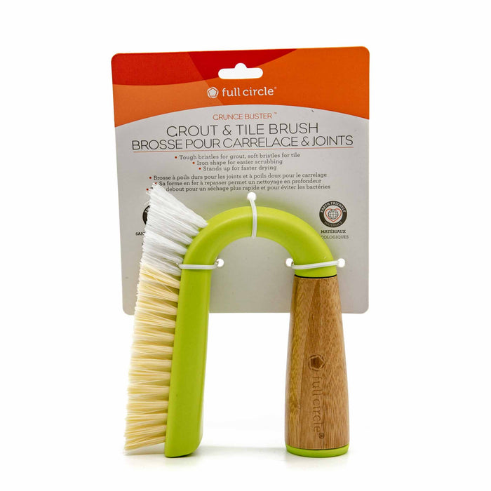 Full Circle Grout & Tile Brush - Mortise And Tenon