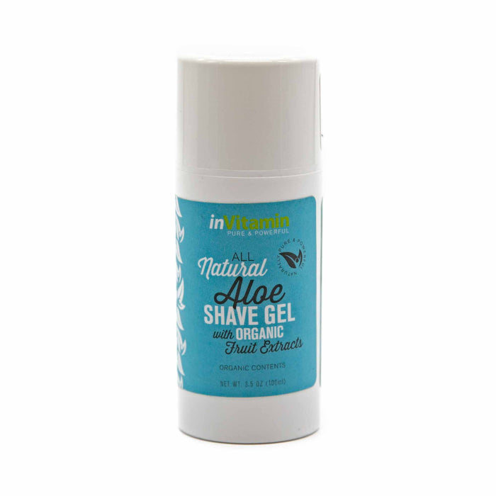 InVitamin Natural Shave Gel - Mortise And Tenon