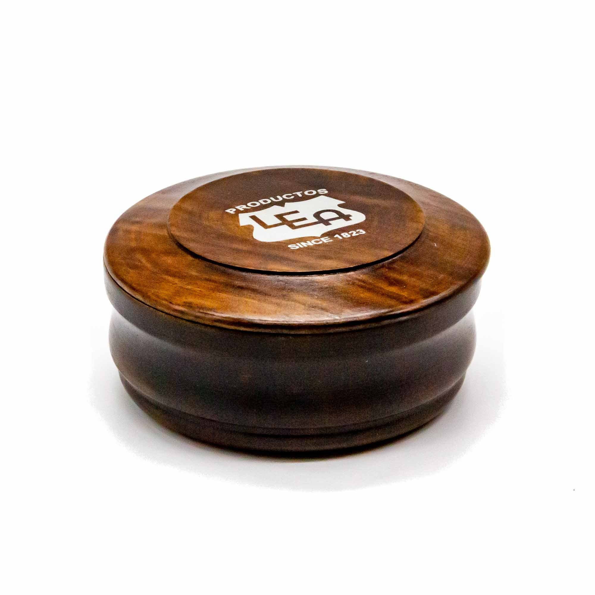 Lea Shaving Soap with Wooden Bowl - Mortise And Tenon