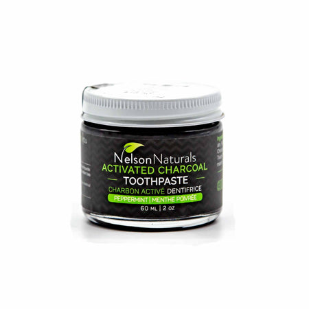 Nelson Naturals Charcoal Toothpaste - Mortise And Tenon
