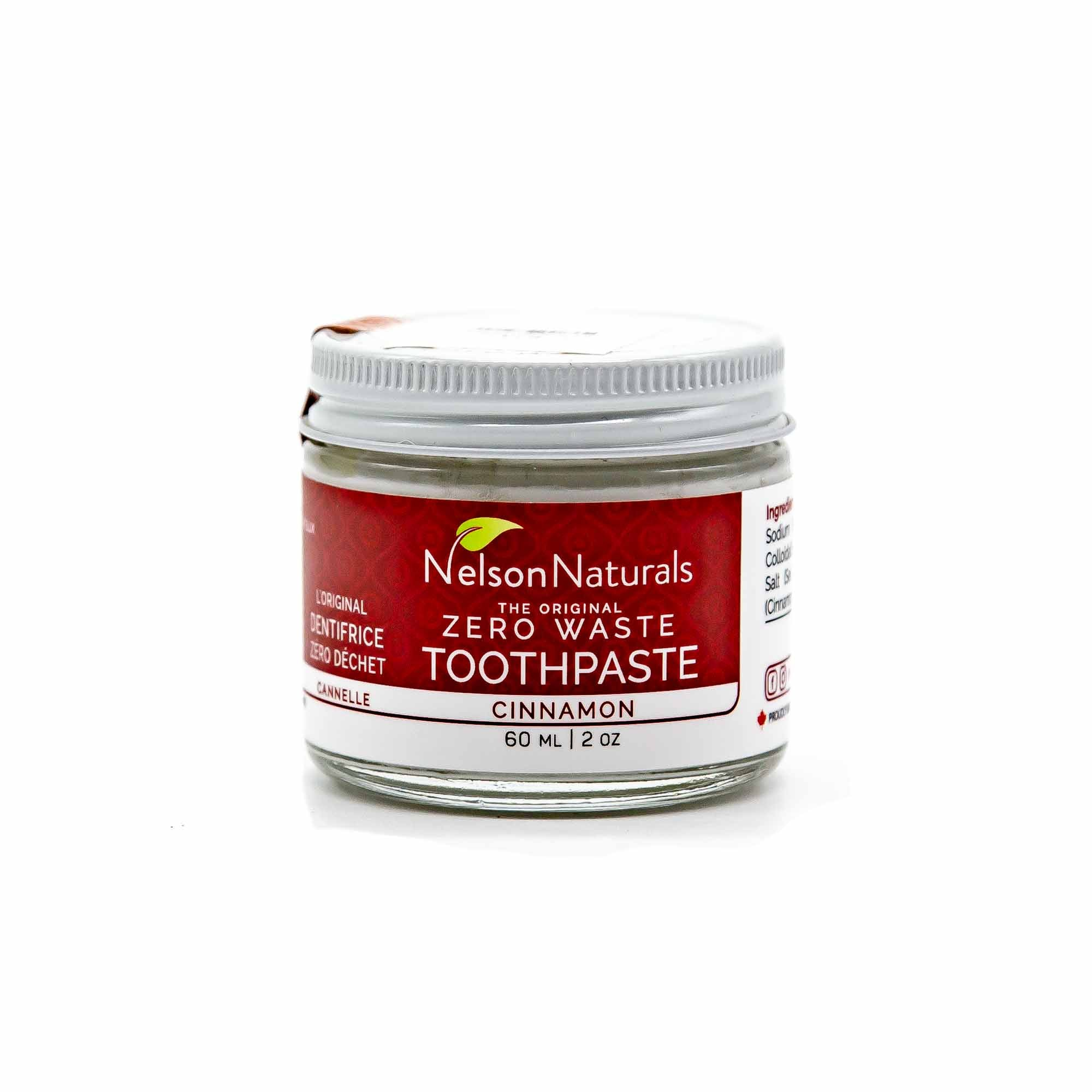 Nelson Naturals Cinnamon Toothpaste - Mortise And Tenon