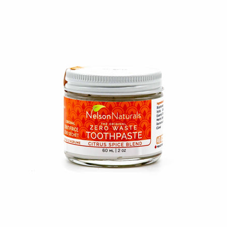 Nelson Naturals Citrus Spice Blend Toothpaste - Mortise And Tenon