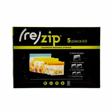 (re)Zip Pack & Go 5-pack - Mortise And Tenon